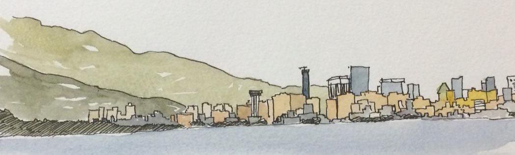 Vancouver BC Skyline